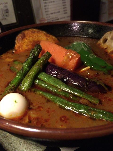 アジアンカフェRAMAIのスープカレーの写真