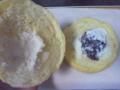 十勝産小豆のつぶあんとホイップのメロンパン(中)
