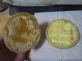 カナダ産メープルシロップ入りゼリーとマーガリンのメロンパン