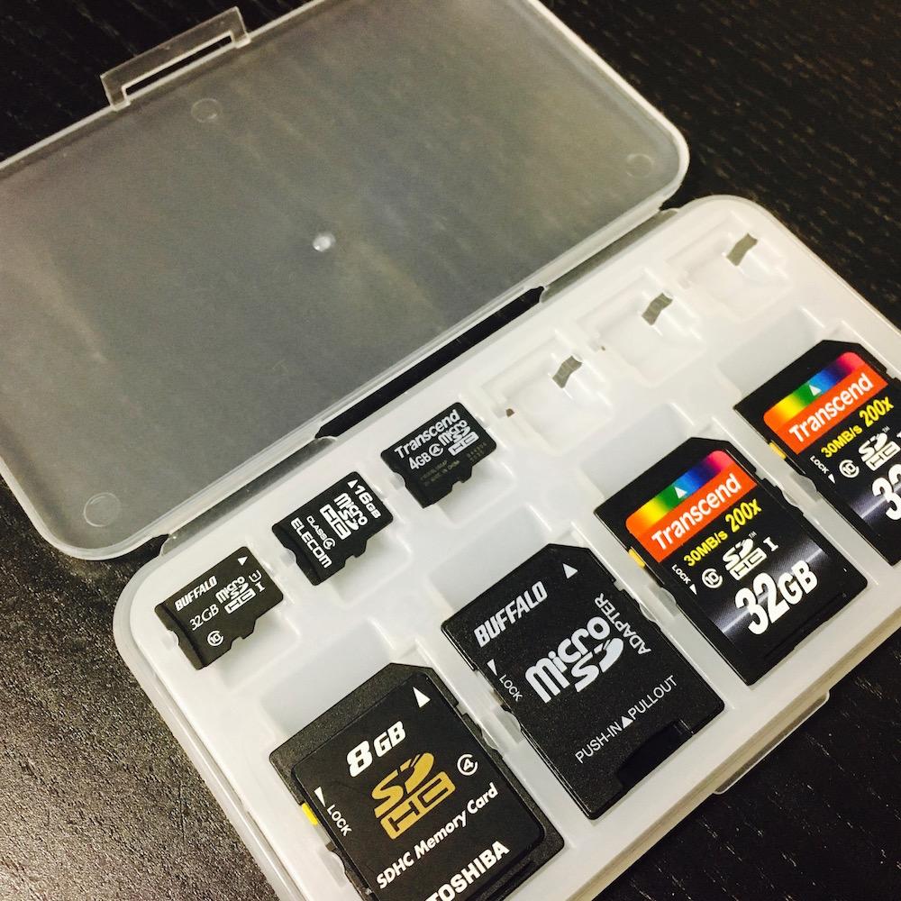 DAISO SDカードケース