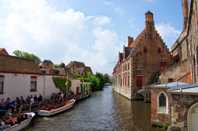 belgium bruges cityscape