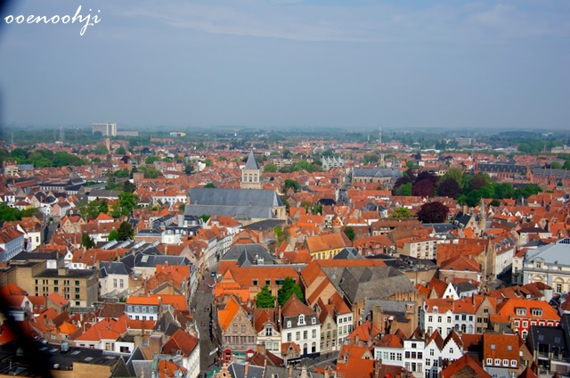 belgium bruges markt cityscape