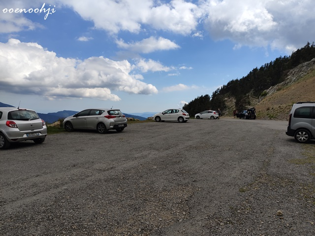 parking de millefonts petit lac