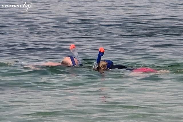 snorkeling mask france