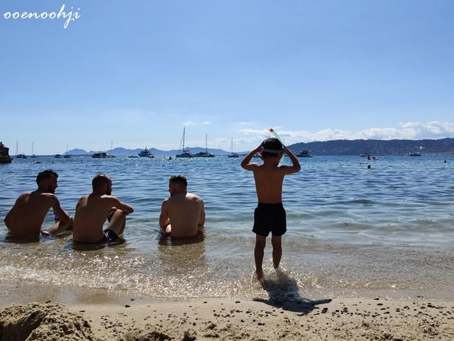 cote d'azur sea beach france