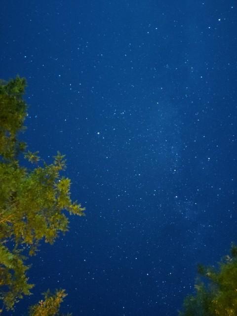 南フランスのキャンプ場で見た星空