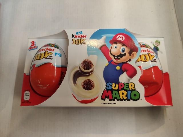 kinderチョコとマリオのコラボ