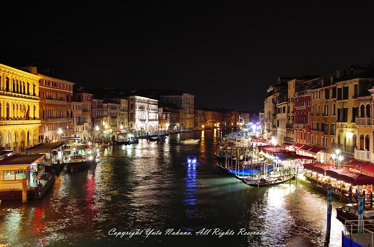 高感度耐性:Pentax 16-45mm + K-5でヴェネツィアの夜景を撮る