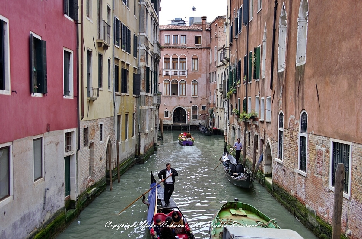 ヴェネツィアの街並み、雰囲気最高