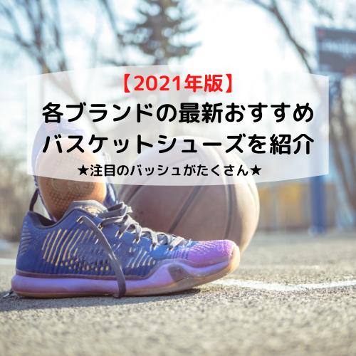 【2021年版】各ブランドの最新おすすめバスケットシューズを紹介(注目のバッシュがたくさん)