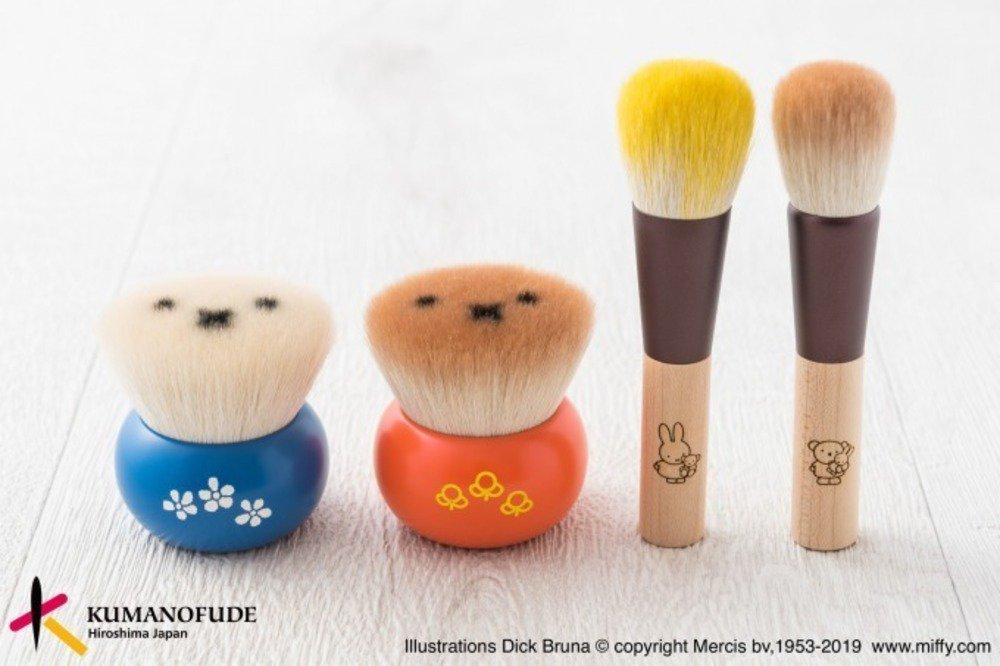 ミッフィー コスメ 熊野筆