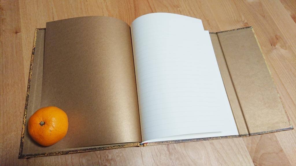 ノート 1ページ ペーパーブランクス