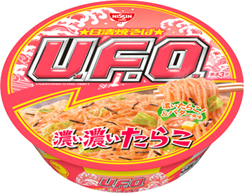 日清焼きそば UFO 濃い濃いたらこ