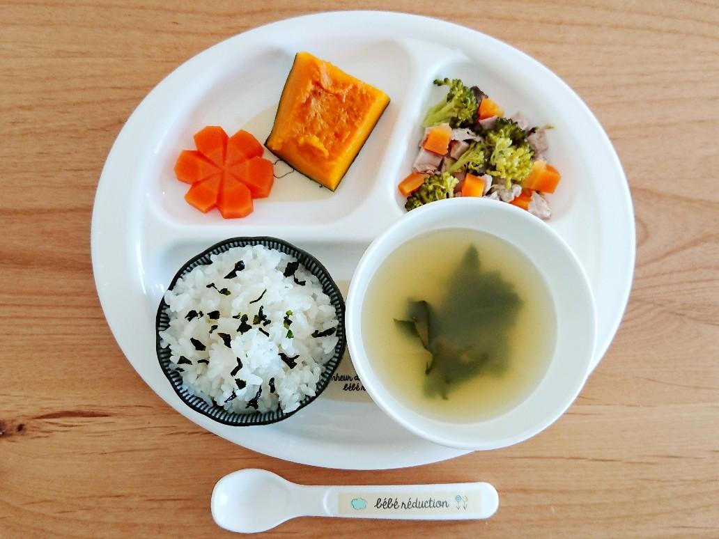 離乳食 カツオと野菜の煮物