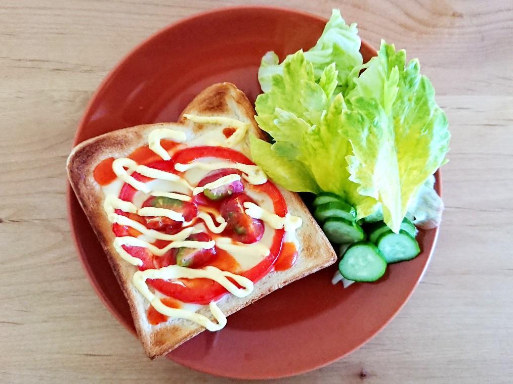 トマトパプリカトースト