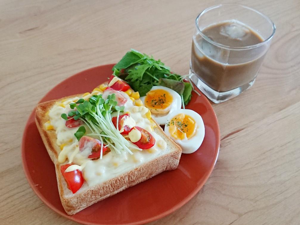 マヨコーントースト
