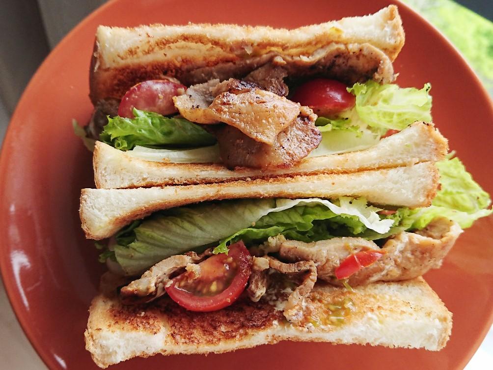 豚ロースサンドイッチ