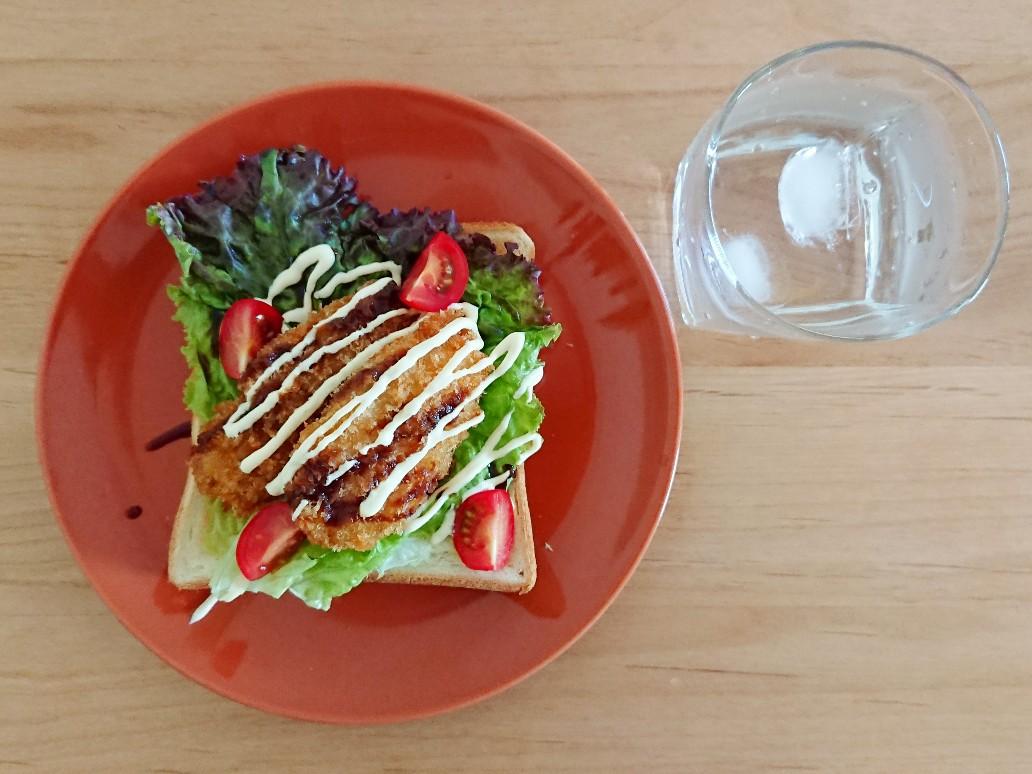 鶏のささみフライトースト