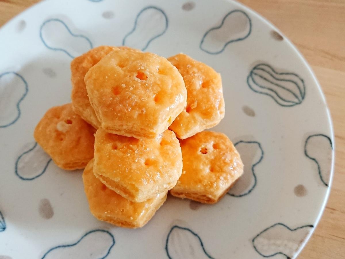 お皿に盛ったパイの実