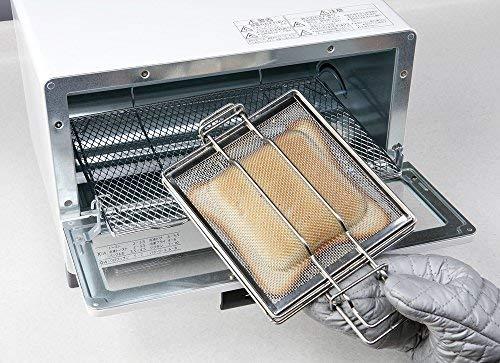 グリル・オーブントースター用 ホットサンドメーカー