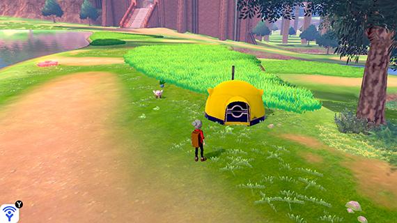ワイルドエリアのテント