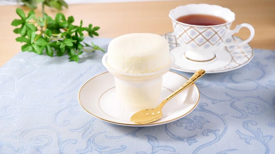 まっ白ミルクのスフレプリン