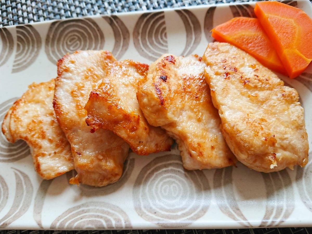 鶏胸肉のマヨネーズ焼き