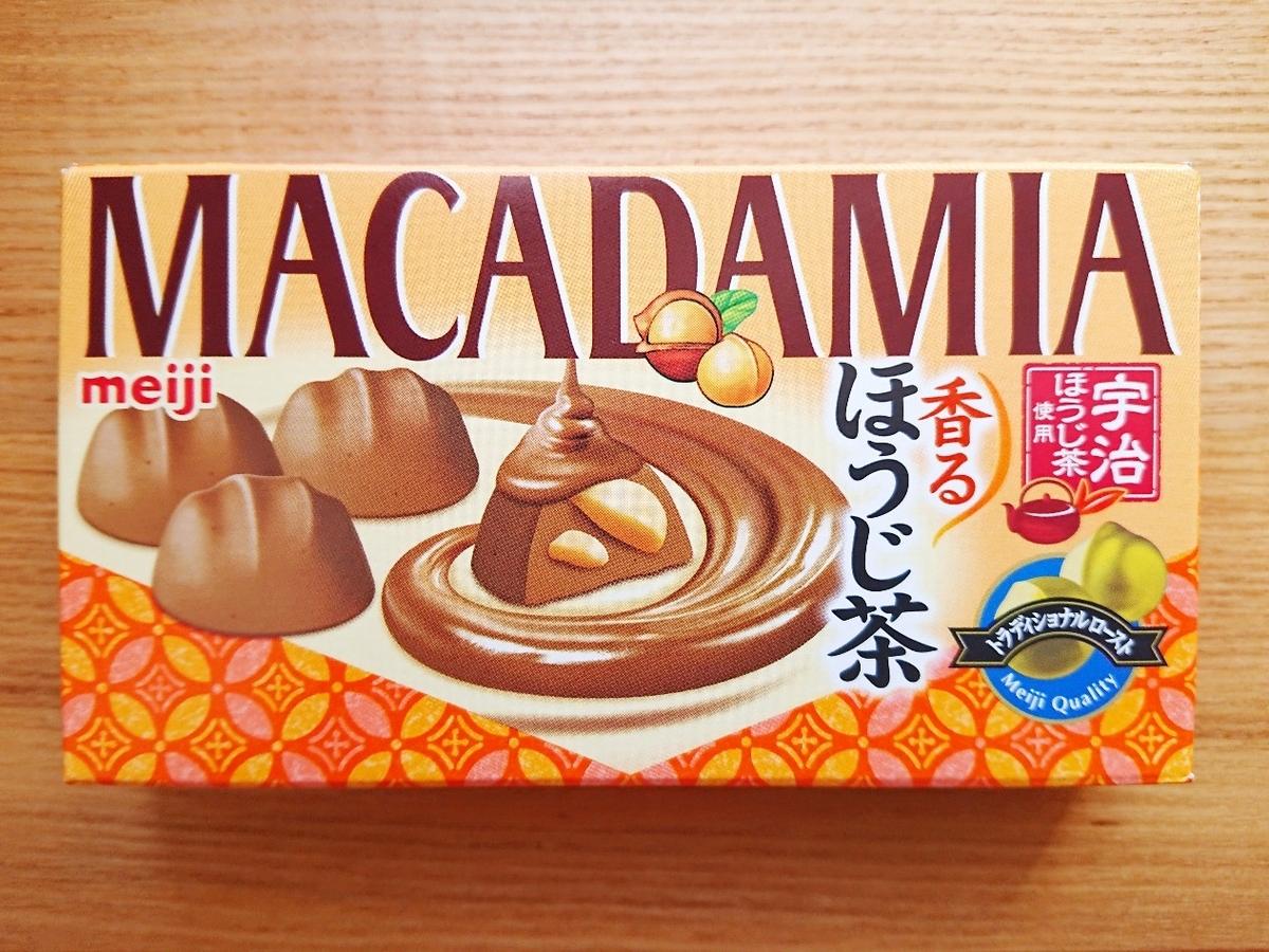 meijiマカダミア香るほうじ茶