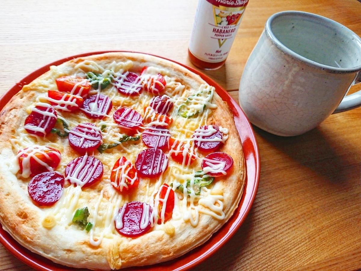 ピザ ハバネロソース コップ