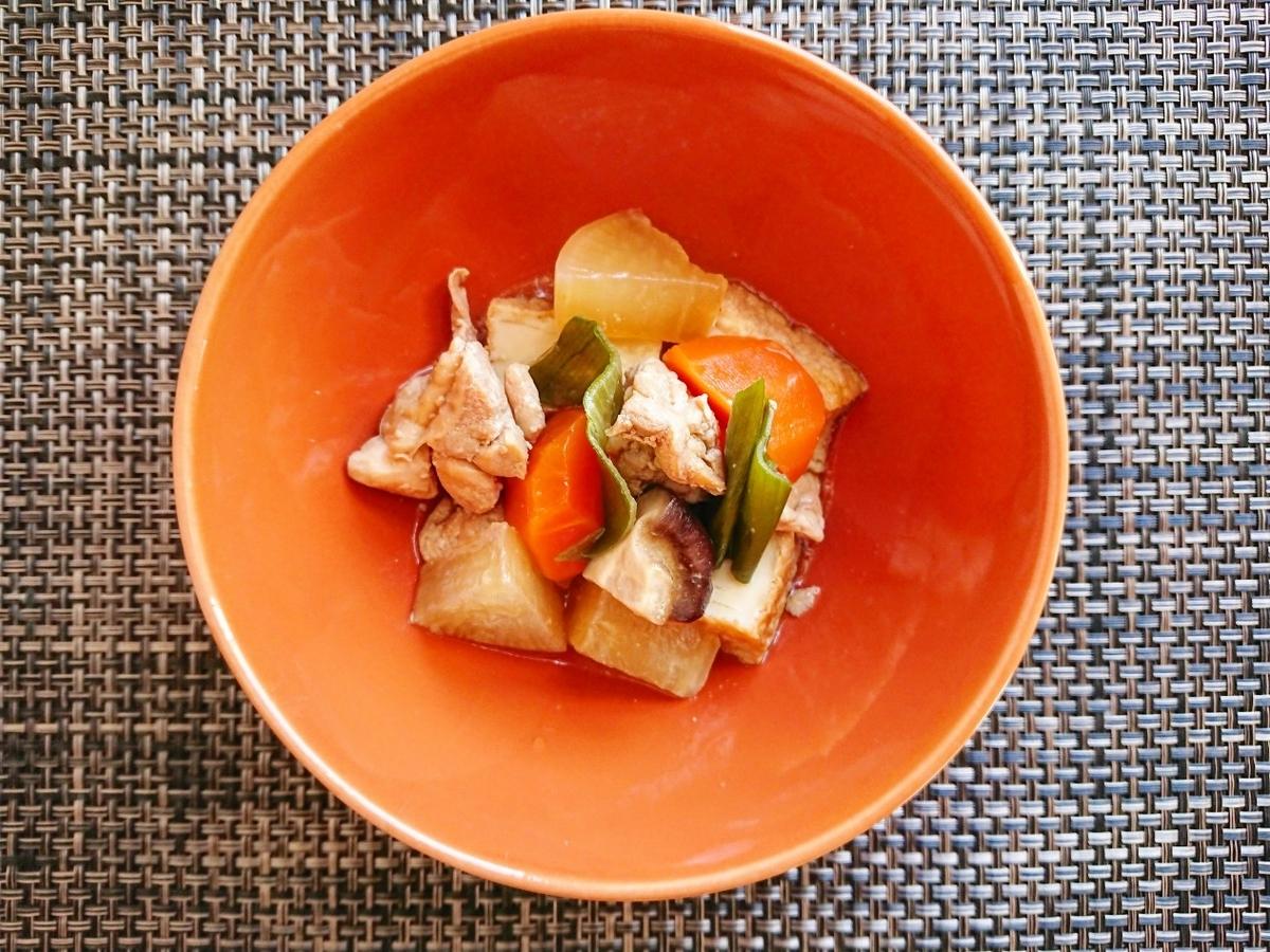 鶏もも肉とお野菜の煮物