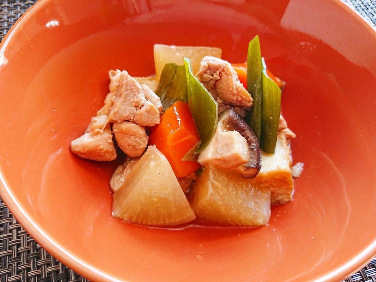 鶏もも肉と野菜の煮物