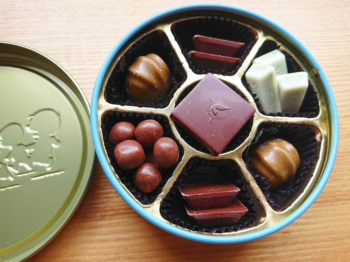 チョコレート缶