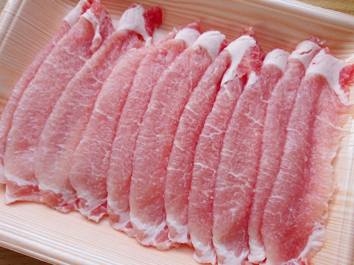 しょうが焼き用豚肉