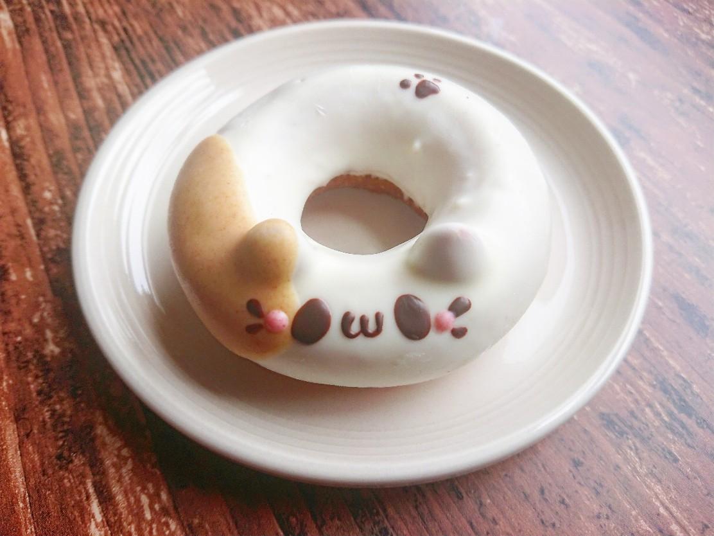 みけねこのかわいいドーナツ