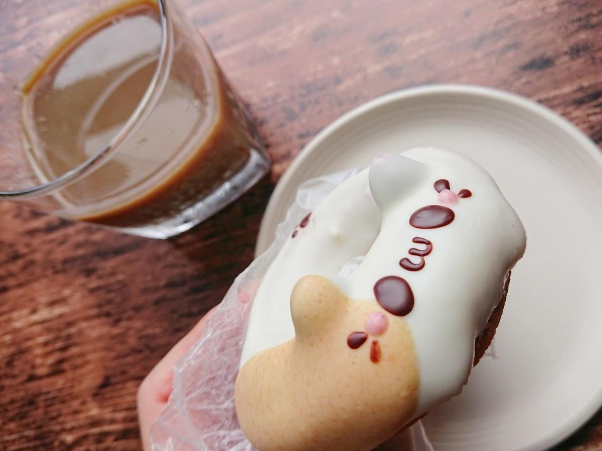 コーヒー みけねこのドーナツ