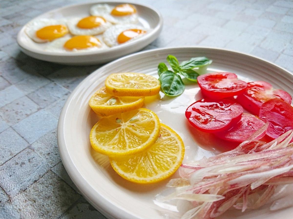 野菜や薬味