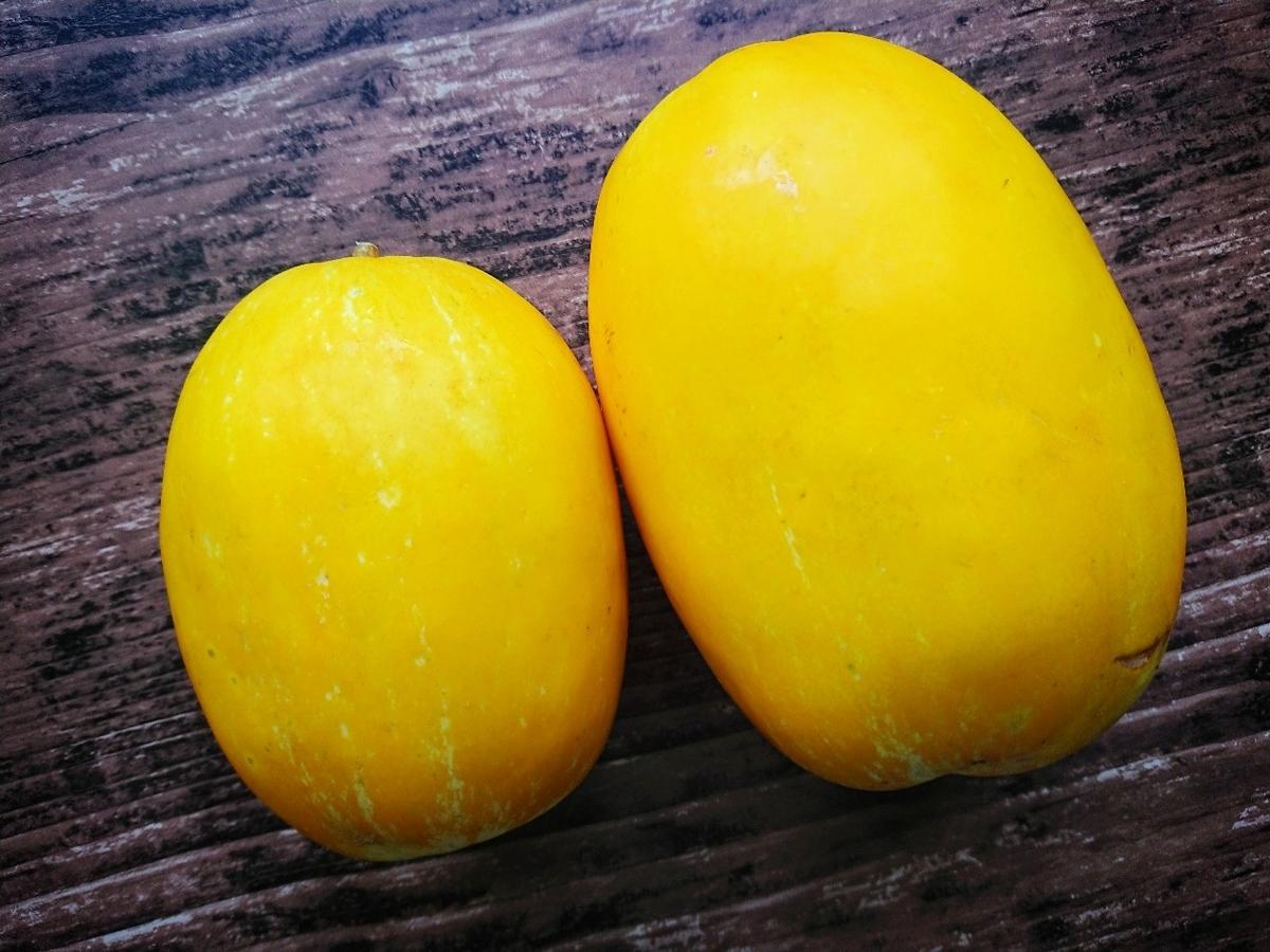 黄色のまくわうり
