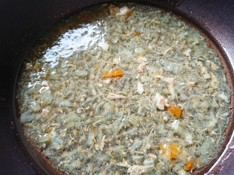 野菜が溶け込んだスープ