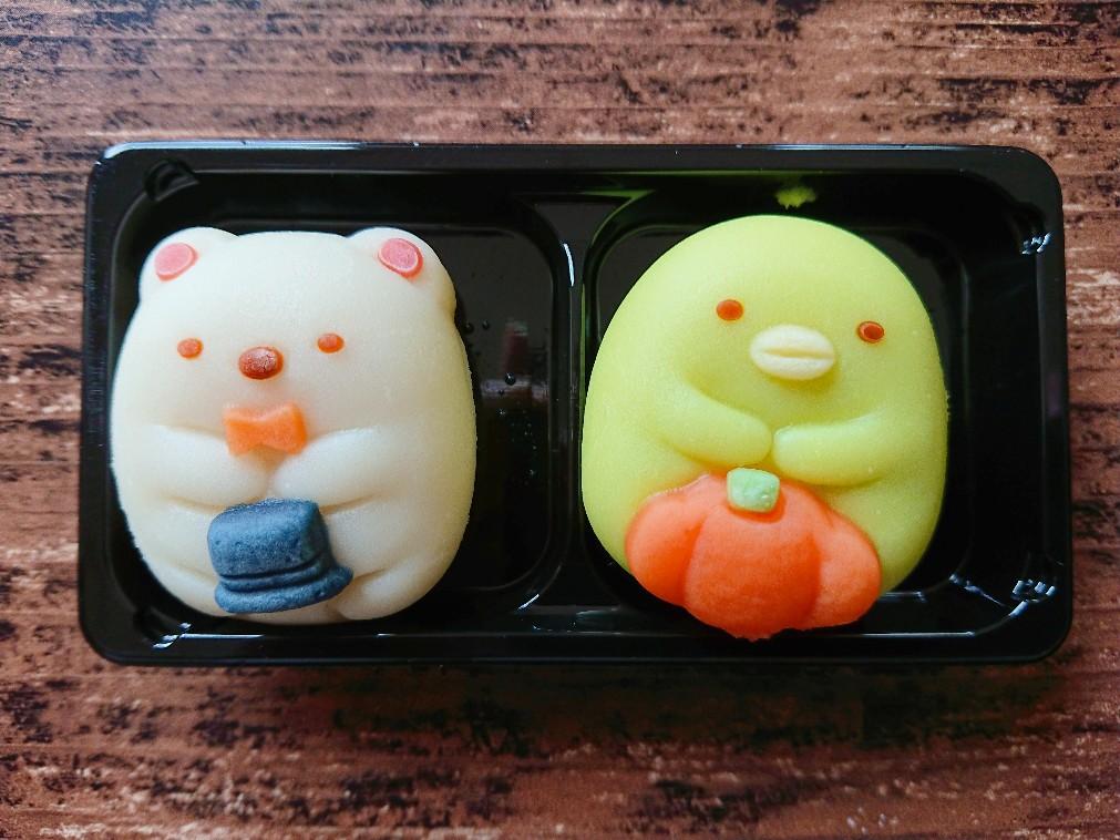 すみっコぐらしの和菓子
