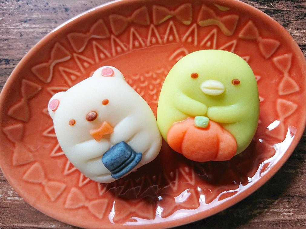 すみっコぐらし しろくま ぺんぎん?の和菓子