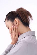 運動によって引き起こされる顎関節症