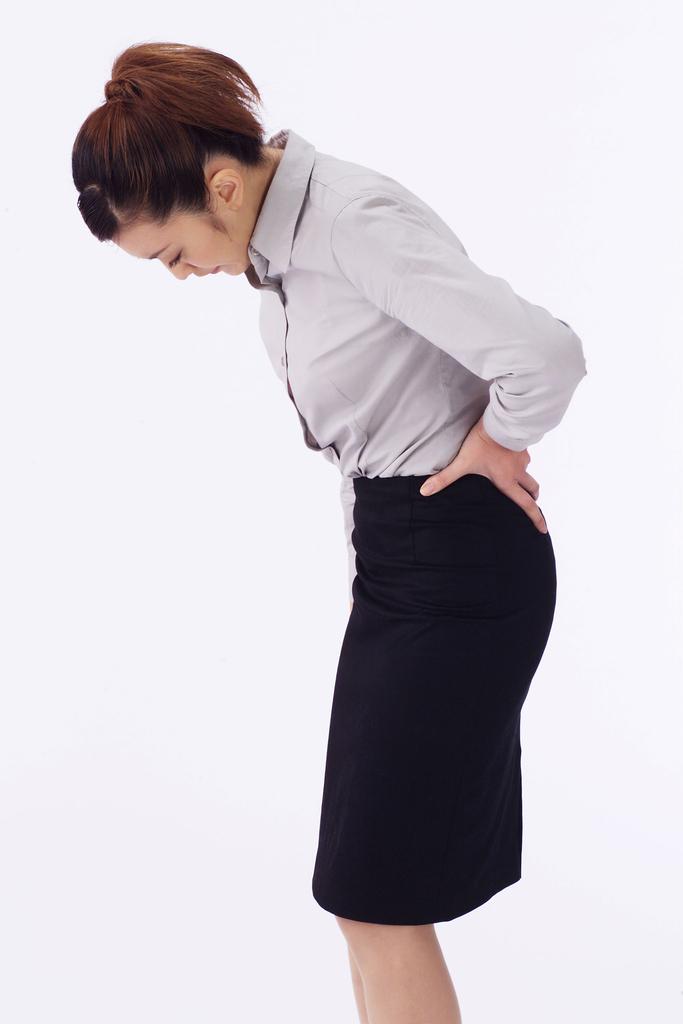 梨状筋症候群の女性