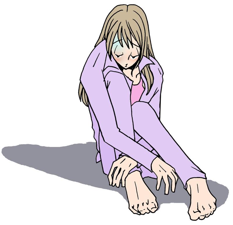 うつ病のイメージ