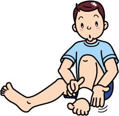 足の甲の痛み
