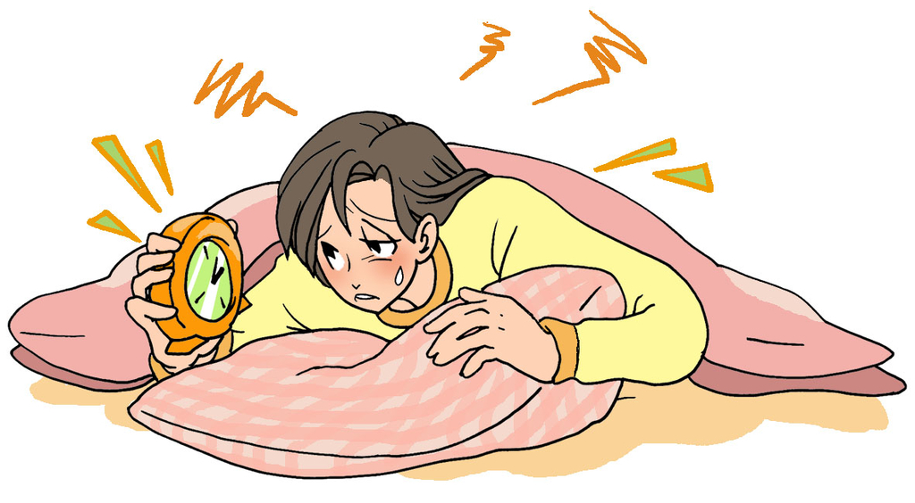 夜間痛に注意