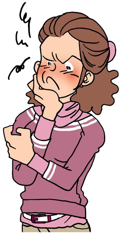 顎関節症を引き起こす癖