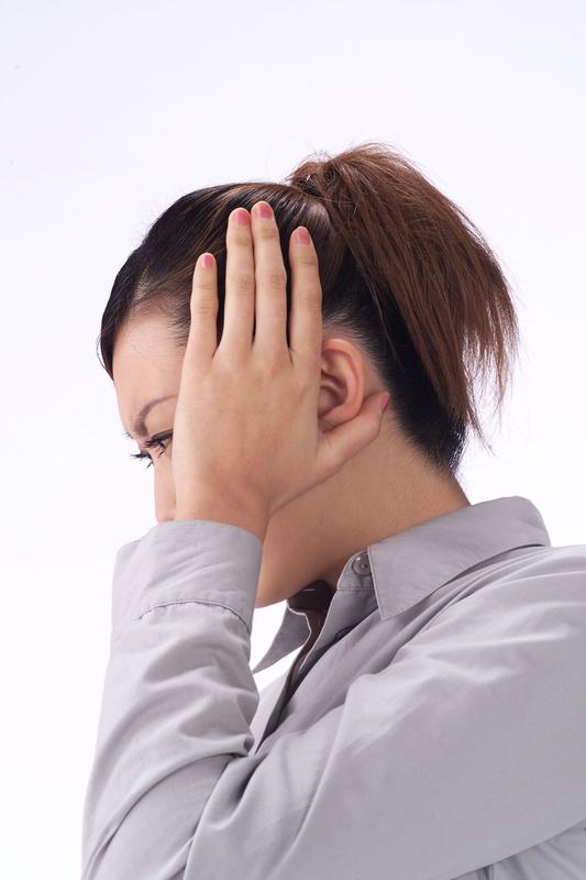 顎関節症による痛み