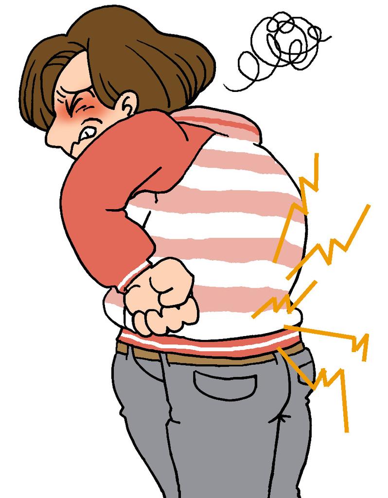 冷えで腰痛発症に注意