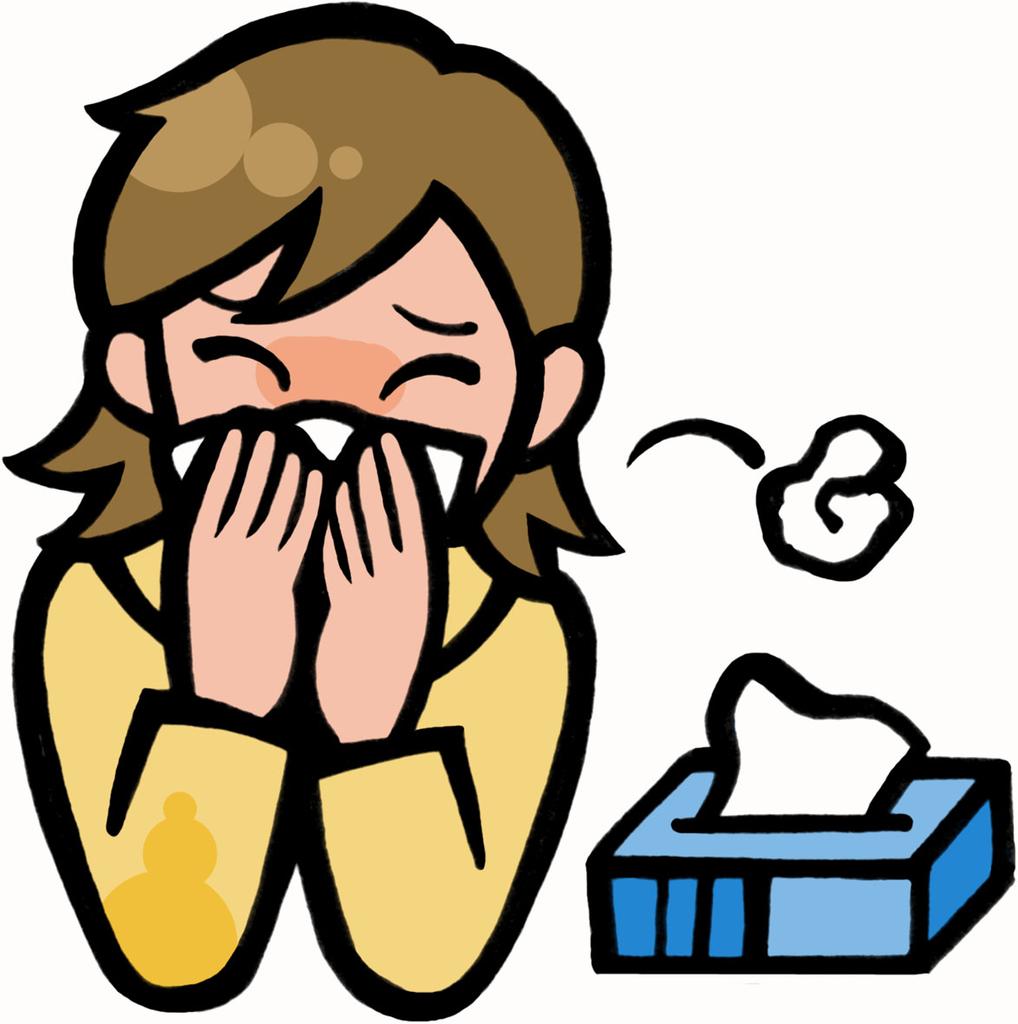 顎関節症による鼻炎