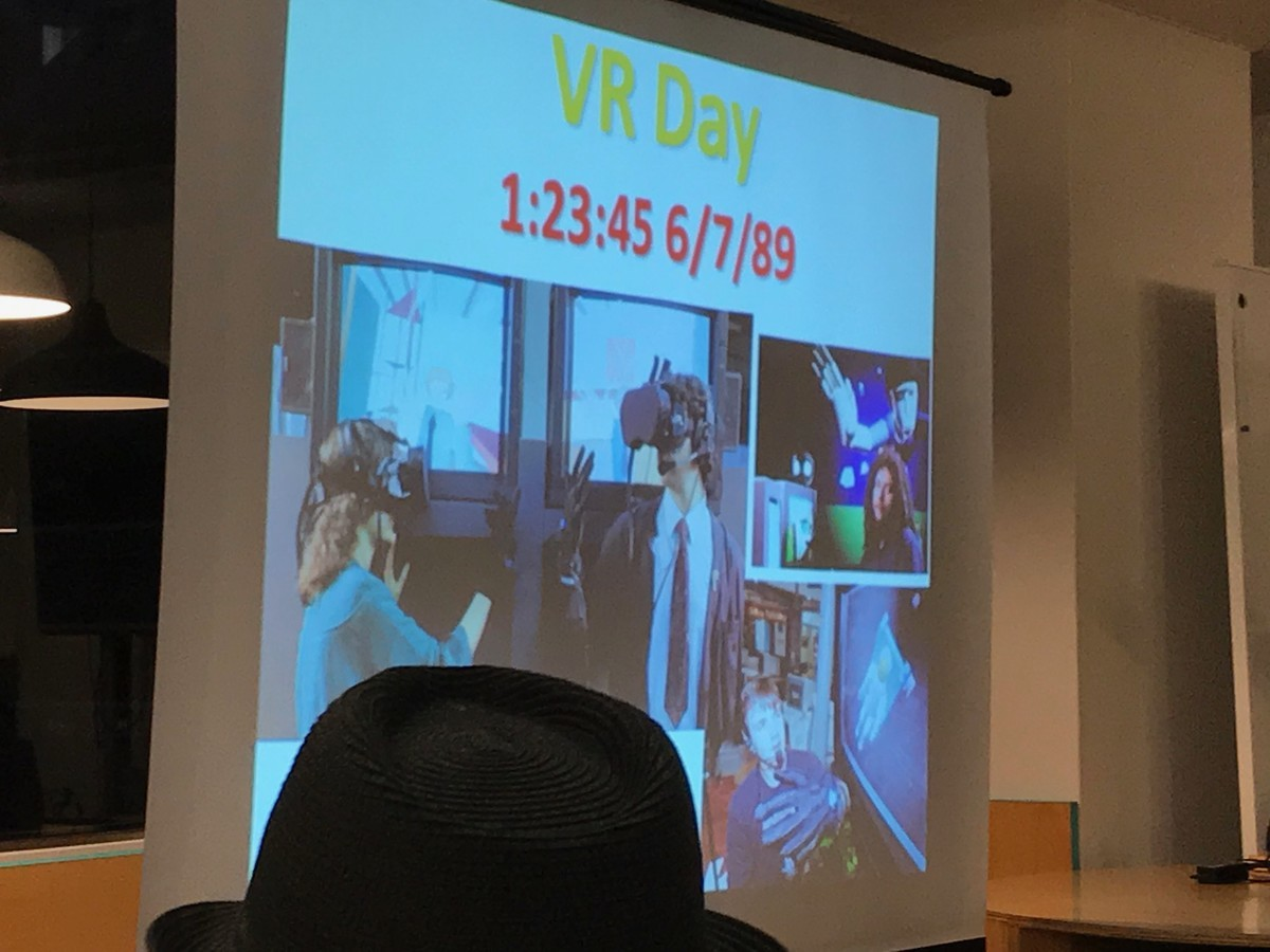 The Birth Time of VR: 01:23:45 6/7/89